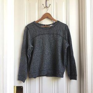 H&M Marled Grey Sweatshirt
